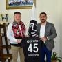 Karaköy FK Başkanı Osman Yıldırım'dan Başkanımız Mevlüt Aktan'a Ziyaret