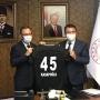 Kulüp Başkanımız Mevlüt Aktan'dan Spor Bakanı Kasapoğlu'na Ziyaret